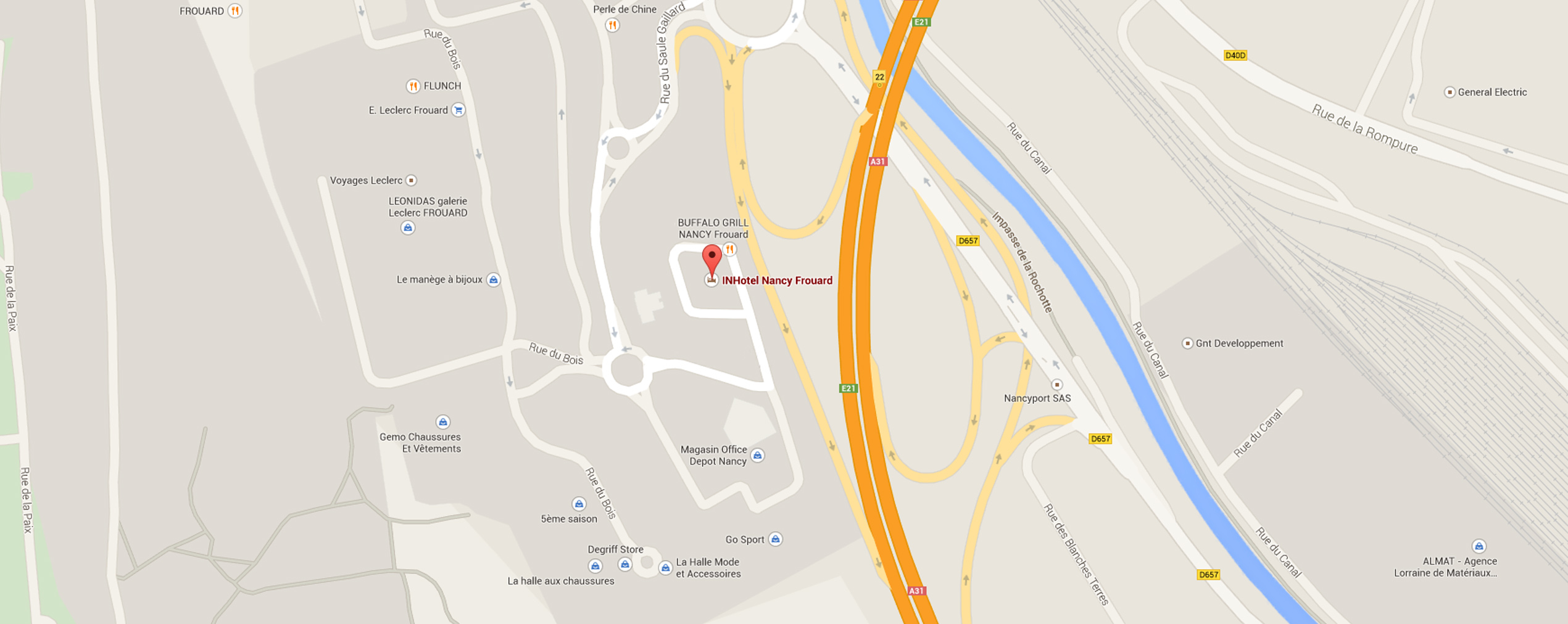 Google Map InHotel